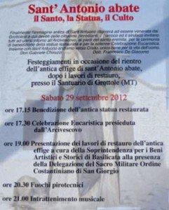 sant antonio abate 2012